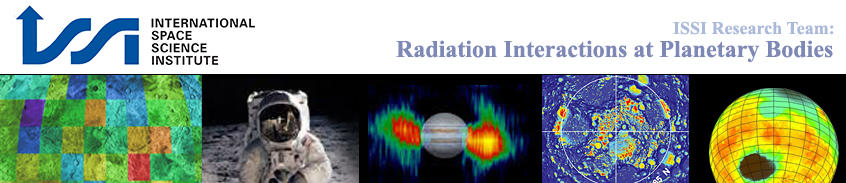 Radiation Interactions at Planetary Bodies