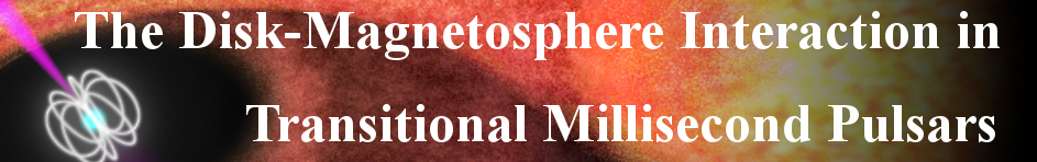 The Disk-magnetosphere Interaction Around Transitional Millisecond Pulsars